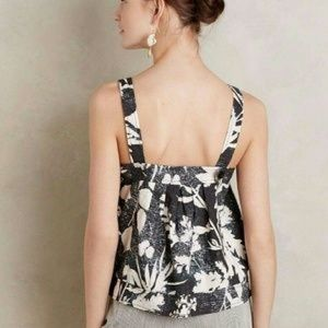 Anthropologie HD Paris Cropped Laurel Tank